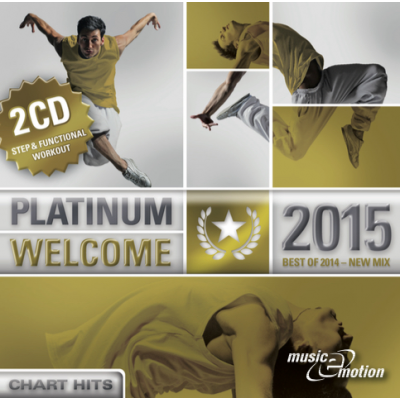 Platinum Welcome 2015 - Step / Workout Doppel CD