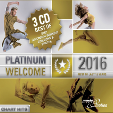 Platinum Welcome 2016 - Best of Step/Workout/Cooldown - 3 CD Box