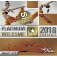 Platinum Welcome 2018 - Best of 2017 Step/Workout/Cooldown - 3 CD Box