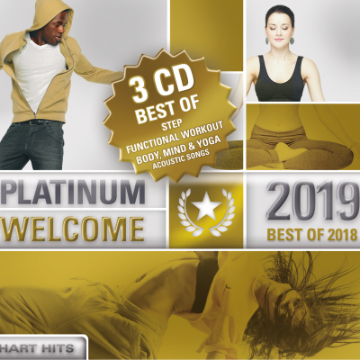 Platinum Welcome 2019 - Best of Step/Workout/Cooldown - 3 CD Box