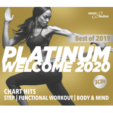 Platinum Welcome 2020 - Best of Step/Workout/Cooldown - 3 CD Box