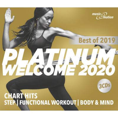 Platinum Welcome 2020 - Best of 2019 Step/Workout/Cooldown - 3 CD Box